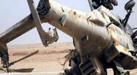 وفاة نقيب متأثرًا بإصابته في حادث سقوط طائرة هليكوبتر بطريق الإسماعيلية-القاهرة