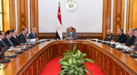 تفاصيل لقاء السيسي بمجلس الأمن القومي