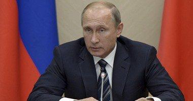بوتين: الضربات الروسية فى سوريا ستستمر لحين معاقبة مفجرى الطائرة