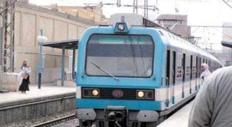 تعطل حركة مترو الأنفاق على الخط الأول «حلوان – المرج»