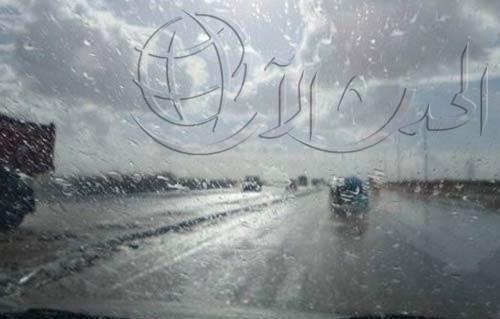 «النقل»: غلق طريق «السويس – السخنة» لكثافة الأمطار