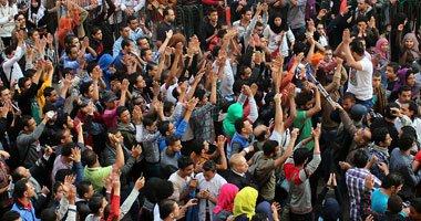 الحبس عامين لـ4 من المتظاهرين بذكرى محمد محمود بتهم التجمهر وقطع الطرق