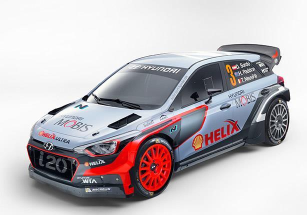 هيونداي تكشف عن الجيل الجديد من سيارات i20 WRC الجيل الجديد من سيارات i20 WRC