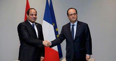 وزير التجارة والصناعة: الرئيس الفرنسى يزور مصر إبريل المقبل