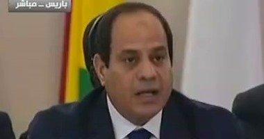 وزير الداخلية فرنسا يؤكد للسيسى ضبط المعتدين على الوفد الإعلامى