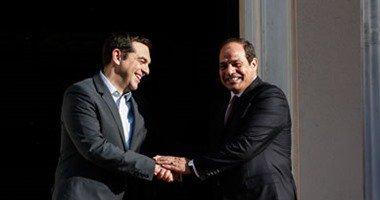 برنامج عمل ثاني أيام «السيسي» في اليونان