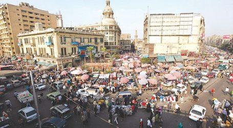 """محافظة القاهرة تزيل """"زهريات الورد"""" من حديقة العتبة بعد انتهاء زيارة المحافظ"""