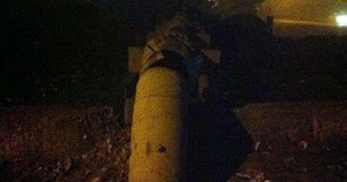 انفجار خط مياه الشرب بشبرامنت فى الجيزة بقنبلة بدائية الصنع