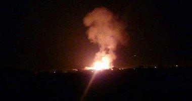 إصابة مجند فى انفجار عبوة ناسفة على طريق مدرعة بالعريش