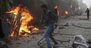 """مقتل 22 مدنياً سوريا فى انفجار 3 شاحنات مفخخة بـ""""تل تمر"""""""