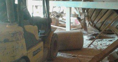 انهيار جزء من مصنع سيراميكا لابوتيه على العمال