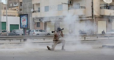 مقتل جندى بالقوات الخاصة الليبية جراء استهدافه من قبل قناص ببنغازى