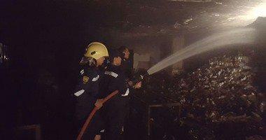 """انفجار """"تانك مازوت"""" داخل مصنع طوب فى زفتى بالغربية والدفع بـ6 سيارات إطفاء"""