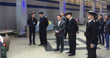 وصول العائدين من ليبيا فى الثالثة عصرا لمطار القاهرة