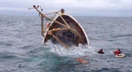 غرق لنش صيد ببورسعيد لسوء الأحوال الجوية
