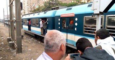 انقطاع الشبكة الكهربائية يشل حركة المترو بين محطتى السيدة ودار السلام