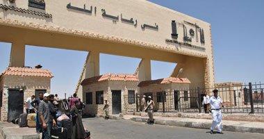 سفر وعودة 1011 مصريا و ليبيا و128 شاحنة عبر منفذ السلوم خلال 24 ساعة