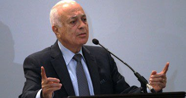 نبيل العربى يبحث فى نيويورك التطورات فى سوريا وليبيا واليمن