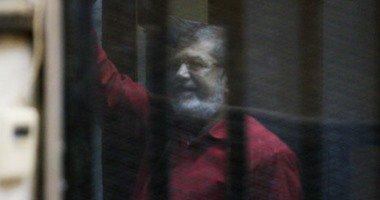 """اليوم.. نظر محاكمة محمد مرسى و10 آخرين بقضية """"التخابر مع قطر"""""""