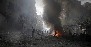 المرصد السورى: مقتل 35 مدنيا بقصف جوى وسط وجنوب سوريا