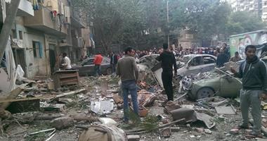 """ارتفاع حصيلة ضحايا """"انفجار الهرم"""" إلى قتيلين و15 مصابا"""