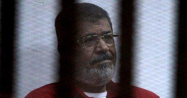 """اليوم.. سماع مرافعة النيابة فى محاكمة """"مرسى"""" و10 آخرين بـ""""التخابر مع قطر"""""""