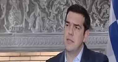 رئيس وزراء اليونان: ناقشت مع السيسى تولى شركات يونانية مشاريع بقناة السويس