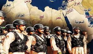 قوات عربية مشتركة - (صورة تخيلية)