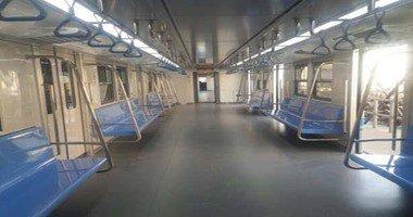 """""""المترو"""": تشغيل القطار المكيف الثامن بالخط الأول نهاية الشهر الجارى"""