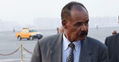 رئيس اريتريا يصل مطار القاهرة فى زيارة تستغرق يومين