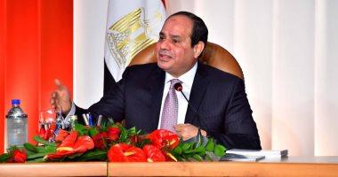 الرئيس السيسى يعلن بدء اجتماع مجلس السلم والأمن الأفريقى برئاسته