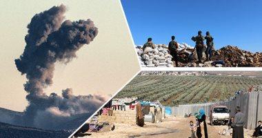 جيش الاحتلال التركى يستقدم مرتزقة لمناطق حدودية قبالة شمال وشرق سوريا