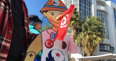 محتجون تونسيون يطالبون حركة النهضة بكشف مصادر تمويلها