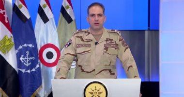 المتحدث العسكري: حدودنا الغربية مستهدفة.. «ومحدش في العالم يقدر يقول أنهينا الإرهاب 100%»