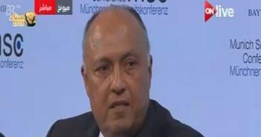 وزير الخارجية يتوجه للمنامة للمشاركة بالدورة العاشرة للجنة المصرية البحرينية