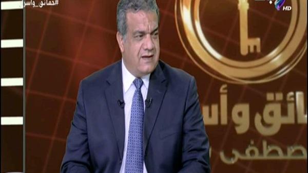 سعد الزنط: الداعون لمقاطعة الانتخابات «أذرع »لأجهزة خارجية للنيل من مصر