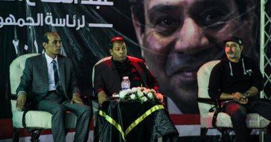 """""""كلنا معاك من أجل مصر"""" تنظم مؤتمرا جماهيريا لدعم السيسى بميدان العباسية"""