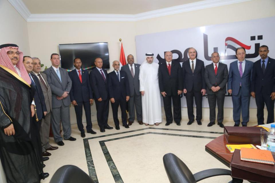 """الحملة الرسمية للرئيس """" السيسي"""" تستقبل سفراء عدد من الدول العربية"""