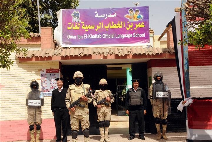 القوات المسلحة والشرطة تتسلم لجان الانتخابات
