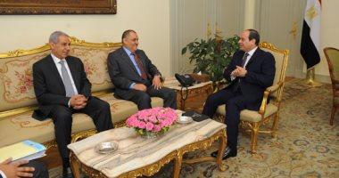 السيسى يؤكد حرص مصر التواصل المستمر مع المستثمرين الكويتيين لتذليل العقبات