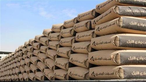 انخفاض أسعار الأسمنت.. و«سيناء» بـ985 جنيهًا للطن