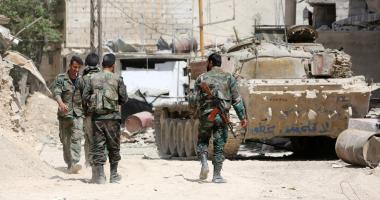 القوات السورية تعثر على أسلحة وذخائر أمريكية وتركية فى ريفى دمشق ودرعا