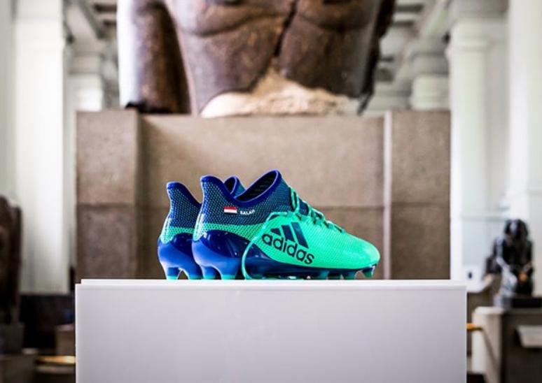 حذاء محمد صلاح يدخل المتحف البريطاني