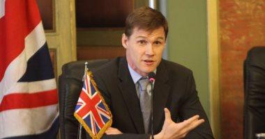 """السفير البريطانى لحضور مؤتمر التعليم العالى : """"أقدر ترككم لمباراة المنتخب"""""""