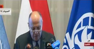 سامح شكرى: مصر ستزيد من قوات حفظ السلام الدولية النسائية