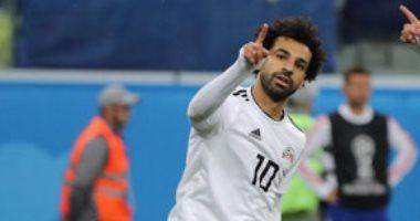 محمد صلاح يحرز الهدف الأول لمصر فى مرمى السعودية