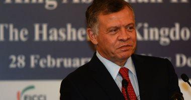 ملك الأردن يعزى الرئيس السيسى بضحايا حادث معهد الأورام