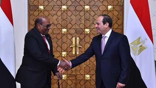 السفارة السودانية تعلن اتفاق السيسي والبشير على عدد من المشروعات المشتركة