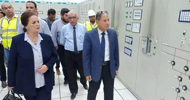 صور.. الرئيس السيسى يفتتح محطة توليد كهرباء وادى النطرون