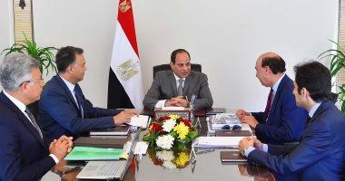 السيسى يستعرض ملامح الخطة الاستراتيجية لتطوير شبكة لوجستيات النقل في مصر